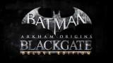 jaquette PlayStation 3 Batman Arkham Origins Blackgate Deluxe Edition