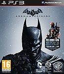 jaquette PlayStation 3 Batman Arkham Origins