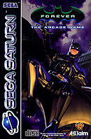 jaquette Saturn Batman Forever The Arcade Game