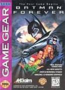 jaquette Game Gear Batman Forever