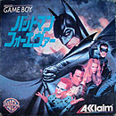 jaquette Gameboy Batman Forever