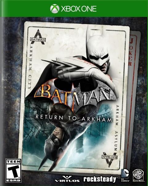 jaquette Xbox One Batman Return To Arkham
