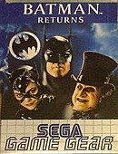 jaquette Game Gear Batman Returns
