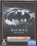 jaquette Lynx Batman Returns