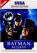 jaquette Master System Batman Returns