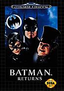 jaquette Megadrive Batman Returns