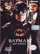 jaquette Nes Batman Returns