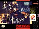 jaquette Super Nintendo Batman Returns