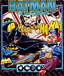 jaquette Amstrad CPC Batman The Caped Crusader