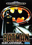 jaquette Megadrive Batman The Video Game