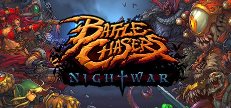 jaquette PC Battle Chasers Nightwar