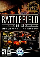 jaquette PC Battlefield 1942 World War II Anthology