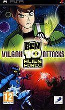 jaquette PSP Ben 10 Alien Force Vilgax Attacks