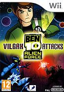 jaquette Wii Ben 10 Alien Force Vilgax Attacks