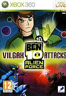 jaquette Xbox 360 Ben 10 Alien Force Vilgax Attacks