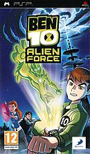 jaquette PSP Ben 10 Alien Force