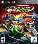 jaquette PlayStation 3 Ben 10 Galactic Racing