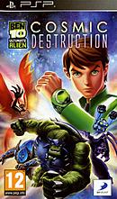 jaquette PSP Ben 10 Ultimate Alien Cosmic Destruction