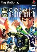 jaquette PlayStation 2 Ben 10 Ultimate Alien Cosmic Destruction