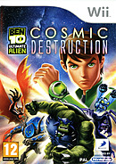 jaquette Wii Ben 10 Ultimate Alien Cosmic Destruction