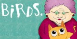 jaquette iOS Birds Vs. Granny And The Meow Maze Kittens