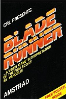 jaquette Amstrad CPC Blade Runner