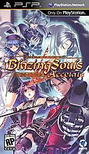 jaquette PSP Blazing Souls Accelate