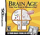 jaquette Nintendo DS Brain Age
