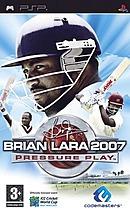 jaquette PSP Brian Lara 2007 Pressure Play