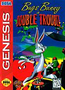 jaquette Megadrive Bugs Bunny In Double Trouble