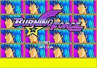 Burning Force Megadrive 20515911