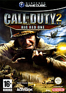 jaquette Gamecube Call Of Duty 2 Big Red One