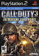 jaquette PlayStation 2 Call Of Duty 3 En Marche Vers Paris