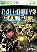 jaquette Xbox 360 Call Of Duty 3 En Marche Vers Paris
