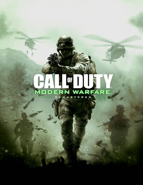 jaquette PlayStation 4 Call Of Duty 4 Modern Warfare Remastered