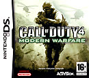 jaquette Nintendo DS Call Of Duty 4 Modern Warfare
