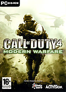 jaquette PC Call Of Duty 4 Modern Warfare