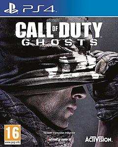 jaquette PlayStation 4 Call Of Duty Ghosts
