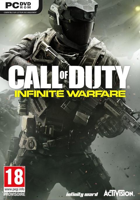 jaquette PC Call Of Duty Infinite Warfare