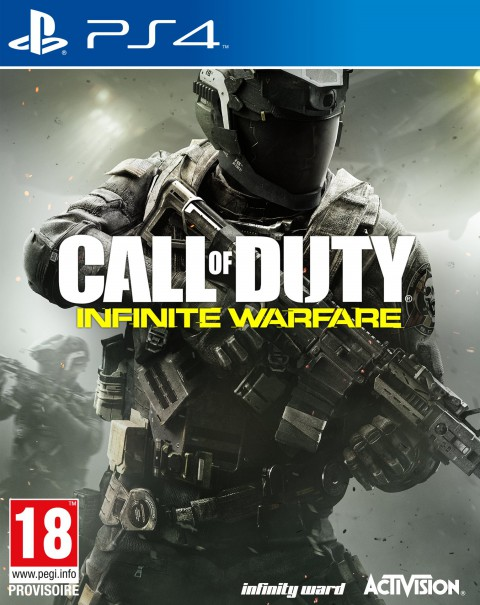 jaquette PlayStation 4 Call Of Duty Infinite Warfare
