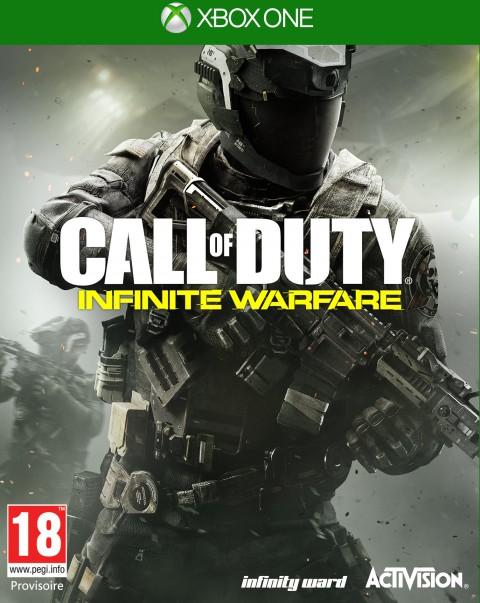 jaquette Xbox One Call Of Duty Infinite Warfare
