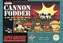 jaquette Super Nintendo Cannon Fodder