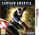 jaquette Nintendo 3DS Captain America Super Soldat