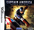 jaquette Nintendo DS Captain America Super Soldat