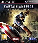 jaquette PlayStation 3 Captain America Super Soldat