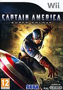 jaquette Wii Captain America Super Soldat