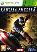 jaquette Xbox 360 Captain America Super Soldat