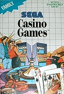 jaquette Master System Casino Games