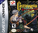 jaquette GBA Castlevania Circle Of The Moon