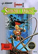 jaquette Nes Castlevania II Simon s Quest